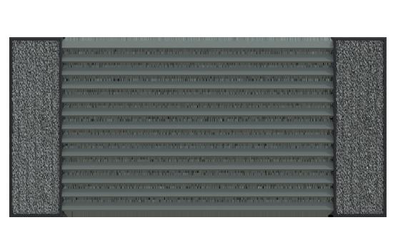 Nowoczesne ogrodzenie żaluzjowe VERO i funkcjonalne słupki ogrodzeniowe LUCCA SOLID