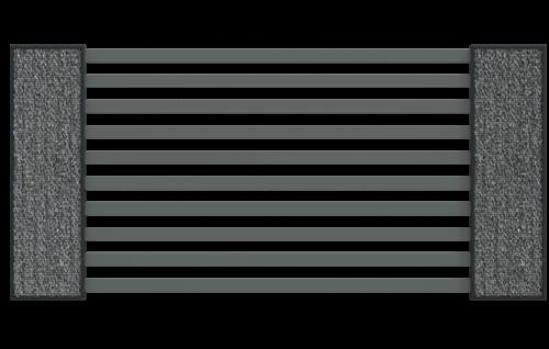 Ogrodzenie palisadowe COMO + słupy LUCCA SOLID - nowoczeny i wytrzymały zestaw ogrodzeniowy