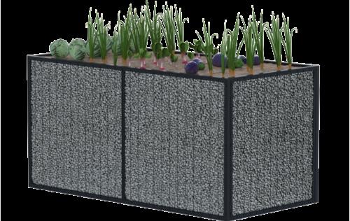 pojemnik na rośliny gabion ślaskie